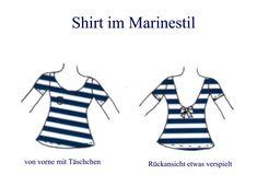 100 und 1 Möglichkeit - Shirt im Marinestil, 32-52