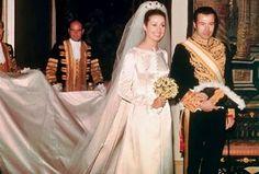 Boda del principe Alfonso de Borbón y Dampierre & Carmen Martínez-Bordiú. Mayo 1972