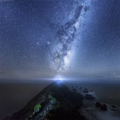 Birth of the Universe ... Nugget Point Lighthouse, Otago coast, South Island, New Zealand | by Daniel Kordan on 500px