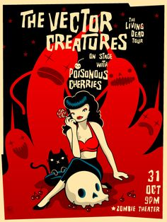 The Vector Creatures poster by grelin-machin.deviantart.com on @deviantART
