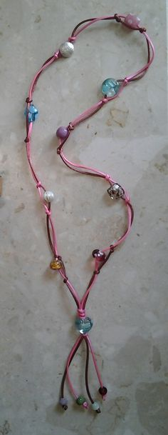 Braid and Bead Necklace £7.00    By Lisa Jane