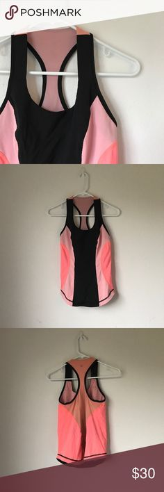 Lululemon Hot Pink/Coral/Black Tank Top Size 2/4? Accepting offers. CONSIDER THE MEASUREMENTS. SIZE 6 but fits more like a 2 or 4. 13.5 inches across so 27 inches all around. Please consider the measurements before purchasing. Excellent condition. Retail $65. lululemon athletica Tops Sweatshirts & Hoodies