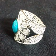 Filigrana turqueza Ring Bracelet, Bracelets, Filigree, Sterling Silver Rings, Jewerly, Gemstone Rings, Rings For Men, Jewelry Making, Turquoise