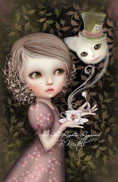 an unusual and wonderful Alice renditon