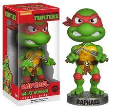 Funko Teenage Mutant Ninja RAFFAELLO Bobble Head Wacky Wobbler 15cm