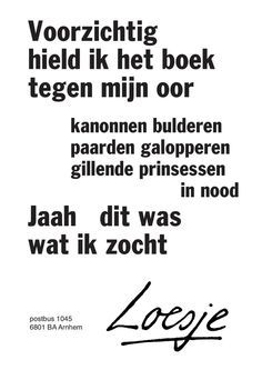 Loesje www.bibliotheeklangedijk.nl