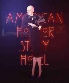 Happy 59th Birthday, DENIS O'HARE! (January 17, 1962) American Horror Story Hotel, Liz Taylor Ahs, Holy Shirt, Ahs Characters, Ahs Hotel, The Love Club, Monster Art, Horror Stories, Movie Tv