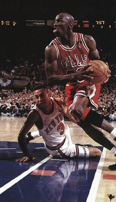 Starks Gets Floored, '92 East Semi Finals.