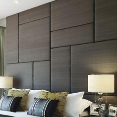 Random Geometric Upholstered Panels