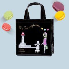 Tropézienne shopping bag #Ladurée regram @ladureeitalia