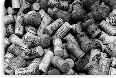 'Wine Lovers Black & White' Spiral Notebook by christianadams Big Bottle Of Wine, Wine Bottle Corks, Black And White Google, Black And White Canvas, Black White, Wine Descriptions, Restaurant Entrance, Wine Images, Champagne Corks