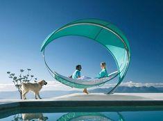 """Garten & Terrasse: Hängematte """"Wave"""" kommt mit Sonnensegel - Bild 9 - [SCHÖNER WOHNEN]"""
