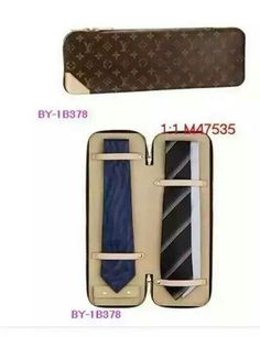 Perfect travel case for your ties! Name Brand Handbags, Armani Brand, Monogram Canvas, Branded T Shirts, Zip Around Wallet, Louis Vuitton, Shoe Bag, Stuff To Buy, Accessories