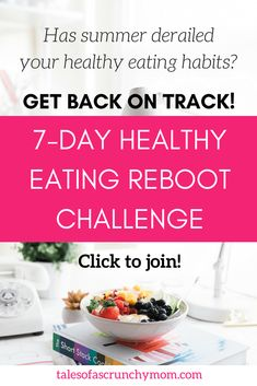 Fallen off the healthy eating band-wagon? Get back on track and makeover your diet with the healthy eating reboot challenge! Healthy Lifestyle Habits, Healthy Eating Habits, Sin Gluten, Holistic Nutrition, Nutrition Resources, Food Nutrition, Crockpot, Natural Parenting, Recipe From Scratch