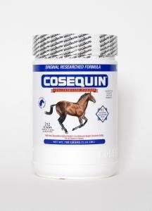 Nutramax Cosequin Equine Powder, 700 Gram Container by Nutramax. Save 44 Off!. $94.88. Maintains healthy joint. #1 Veterinarian recommended. Increase joint mobility and function. 0. Protects against arthritis. For Horses Only.. Cosequin(R) Equine Powder Regardless of age, breed or discipline, the stress of everyday riding, training, and competition may result in wear and tear to articular cartilage, eventually affecting joint function and performance of the equine athelete. Cosequin(...
