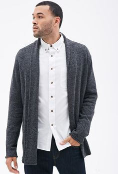 Heathered Open Cardigan | Forever 21 Canada
