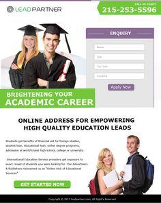 Education Landing Page 3