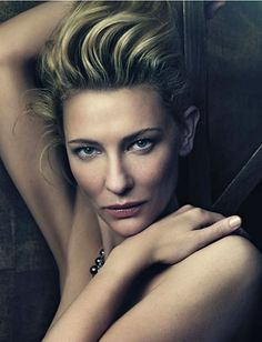 Cate Blanchett photographed by Craig McDean (2010).