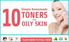 Toning for oily skin is a very important part in skin care regime. Choose the best homemade toner for oily skin from this list of best 12 toners! Oily Skin Care, Anti Aging Skin Care, Dry Skin, Skin Care Tips, Homemade Toner, Homemade Skin Care, Skin Care Remedies, Radiant Skin, Combination Skin