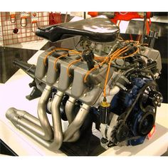 Trd nascar engine heart of the beast pinterest for Ford motor company museum
