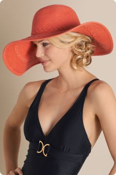 Favorite Floppy Hat - Soft paper straw with a pretty braid detail