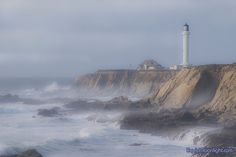 Point Arena Lighthouse, near Mendocino CA.