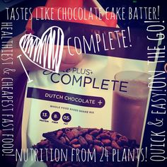 So good! Plant based protein that's delicious and so good for you! http://micheller.juiceplus.com/content/JuicePlus/en/buy/complete/juice-plus--complete-variety.html#.VWvOR1I8KnM