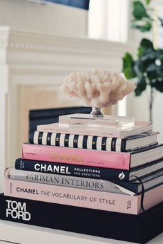 Coffee Table Books Round Up is part of Coffee table books decor - Coffee table books are life! Seriously, I have a mini collection and it seems to be getting bigger by the minute I always find a way to sneak a coffee tabl Coffee Table Styling, Diy Coffee Table, Decorating Coffee Tables, Best Coffee Table Books, Fashion Coffee Table Books, Diy Table Books, Coffee Table Decorations, Chanel Coffee Table Book, Round Black Coffee Table