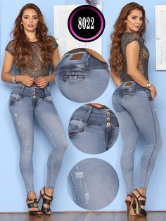 Jeans Levantacola Colombiano - Ref. Best Workout For Women, Moda Chic, Cute Backpacks, Car Girls, Boutique, Fashion Outfits, Womens Fashion, Colored Jeans, Fit Women