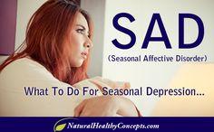 What do to about Seasonal Depression (SAD)