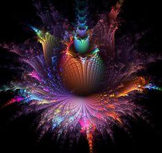 Beautiful floral fractal