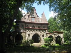 A castle in Ambler, PA