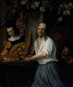 Jan Steen, Le boulanger Arent Oostwaard et sa femme , 1658, Rijksmuseum Amsterdam