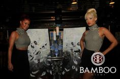 Grey Goose open bar for the Aaron Maybin Art Show at Bamboo Miami Beach:: w/ music by DJ Efeezy — at Bamboo Miami Beach.