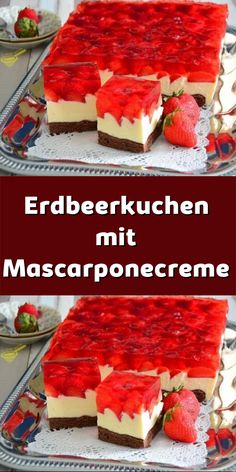 American Cheesecake, Summer Cakes, Easy Baking Recipes, Coffee Cake, No Bake Cake, Bakery, Deserts, Food Porn, Food And Drink