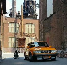 This is the right color Saab 99 Turbo. No doubt!