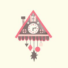 cuckoo clock illustration - Google Search