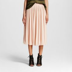Women's Pleated Skirt - Who What Wear ™ : Target