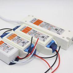 LED 드라이버 어댑터 AC 110 볼트 220 볼트 DC12V led 문자열 조명 변압기 전원 야외 LED 스트립 전구 18 와트 28 와트 72 와트 100 와트