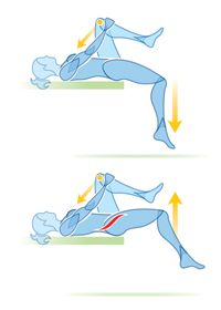 STRETCH ROUTINE: Everyday activities take a toll on our bodies, tightening our muscles and limiting our range of motion in potentially painful ways. This simple stretch routine can help undo the damage. Fitness Workouts, Yoga Fitness, Muscle Stretches, Back Exercises, Tailbone Stretches, Hip Stretches, Hip Pain, Back Pain, Psoas Stretch