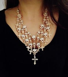 Skulls and crosses