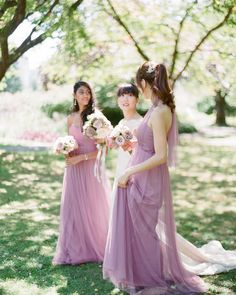 fabulous vancouver florist Beautiful in mauve, soft tulle Annabelle dresses from the @jennyyoonyc collection | photo by @nadiahungphotography | make up by @carolhungmakeup #annabelle #jennyyoo #bridalstyle #bridalbouquet #weddinggown #bridesmaids #mauve #lavender #weddingdetails #fineartwedding #smp #vancouverwedding by @chandelierwedding  #vancouverflorist #vancouverwedding #vancouverweddingdress #vancouverflorist #vancouverwedding #vancouverweddingdosanddonts