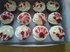 zombie baby shower | Zombie baby babyshower cupcakes by Cupcake-Killer on deviantART