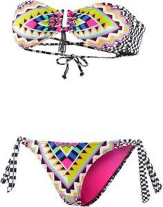 RIP CURL Bandeau Bikini Damen Cancun