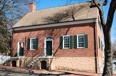 Traugott Leinbach House, built in 1924, in Old Salem of Winston-Salem, North Carolina