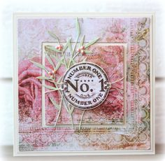 CC474 Number one by Biggan - Cards and Paper Crafts at Splitcoaststampers