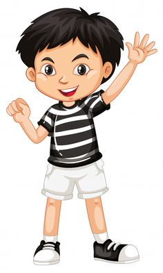Cute happy smiling child isolated on white background Cartoon Cartoon, Baby Cartoon Drawing, Cute Cartoon Boy, Cute Cartoon Pictures, Boy Drawing, Happy Cartoon, Human Drawing, Cartoon People, Cartoon Drawings