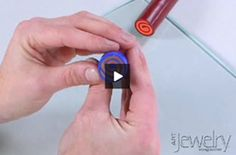 Learn how to make a spiral jellyroll cane out of polymer clay, from Art Jewelry magazine.
