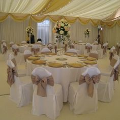 Covers on pinterest chair sashes wedding chair covers and beach
