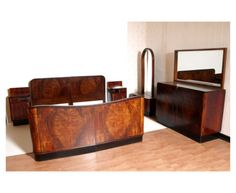 Art Deco bedroom suite